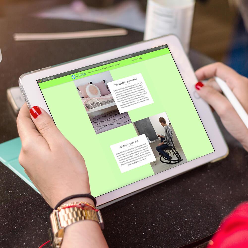 e-commerce responsive veloce ed ottimizzato