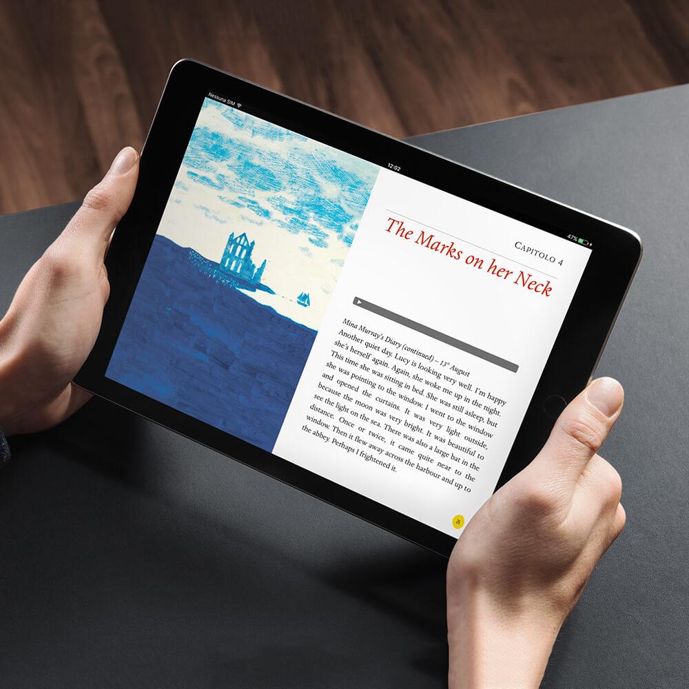 libro digitale dracula cliente eli edizioni
