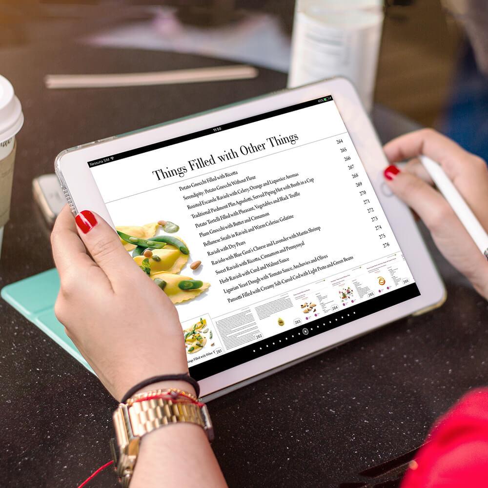 servizi per editori inspired libro digitale gusto italiano cliente alma scuola di cucina