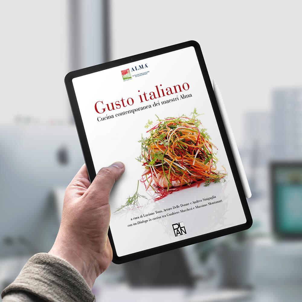 servizi per editori inspired libro digitale Italian taste cliente alma scuola di cucina