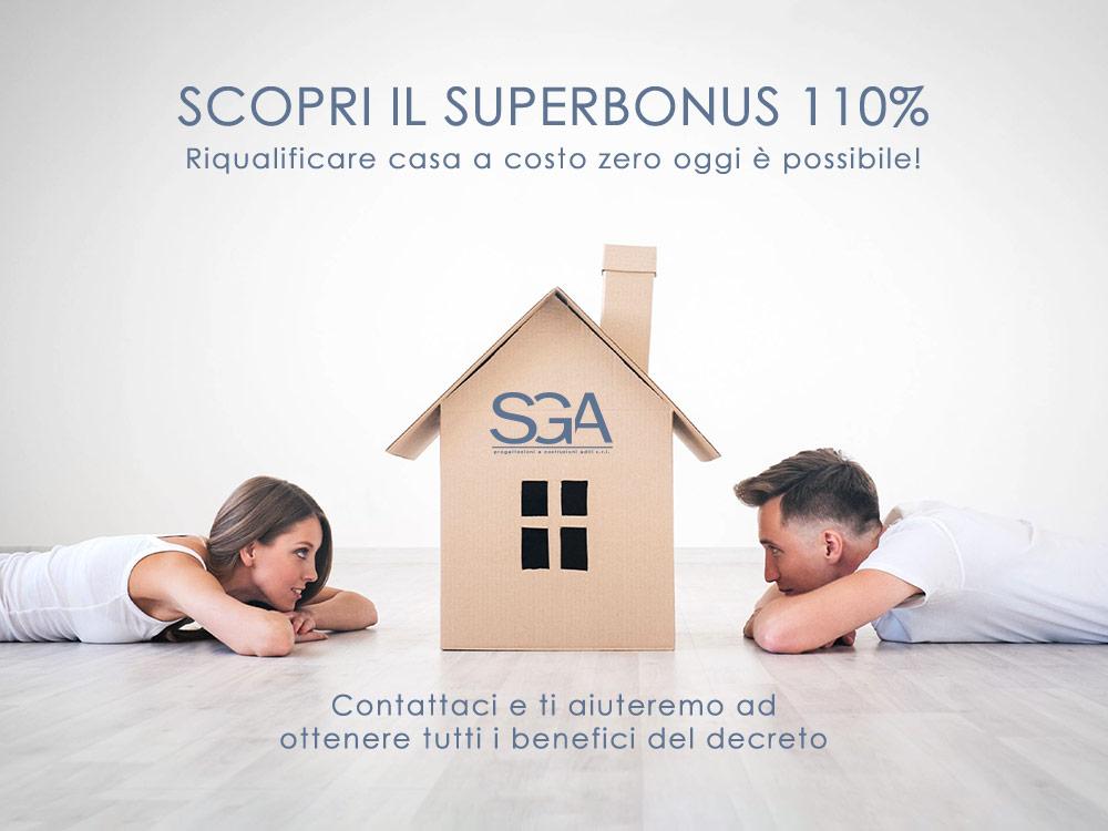Campagna pubblicitaria instagram facebook scopri il superbonus