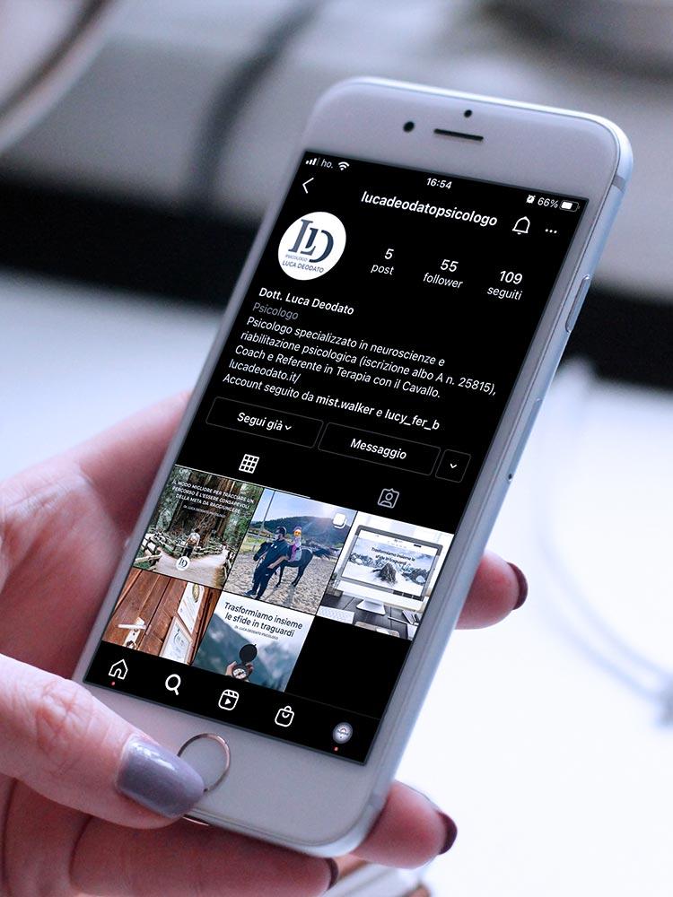 Gestione Pagina Instagram